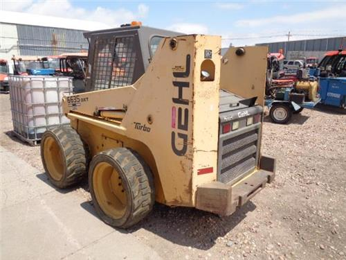 GEHL 6635 DXT TURBO DIESEL SKID STEER LOADER BRAND NEW MOTOR