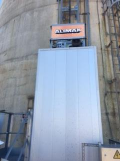 ALIMAK 5 MAN 800 LB CAPY. STACK ELEVATOR INDUSTRIAL 3 YEARS OLD