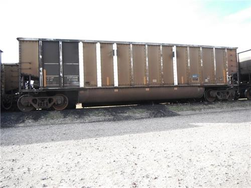 (400)--1990 TWIN TUB COAL 100 TON ALUMINUM RAIL CARS