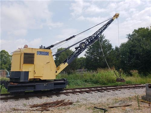 RAILROAD BURRO CRANE WITH MAGNET REBUILT IN 2000