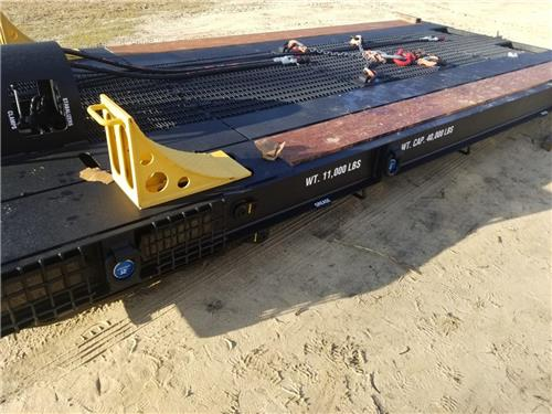 2018 DYMAX EQUIPMENT HY-TRACKER LOW RAILER TRAILER BRAND NEW NEVER USED