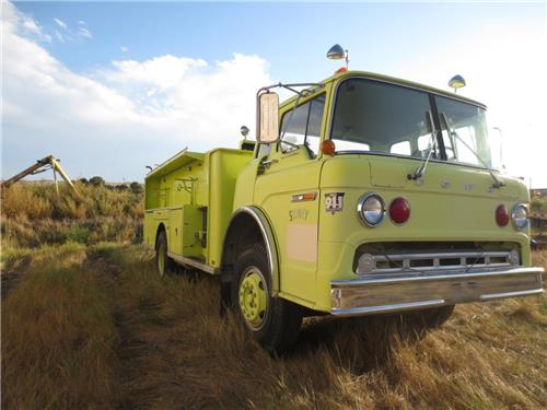 FORD FIRE TRUCK LOW MILES RUNS GREAT