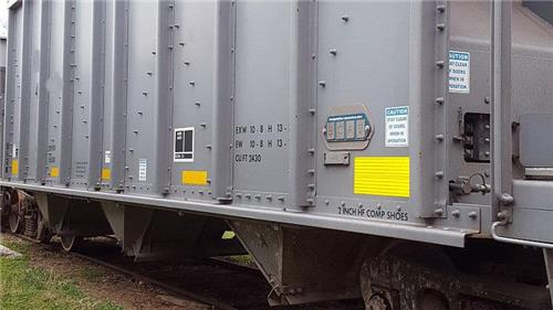 198 2013 Steel Aggregate Railroad Rail Cars Hopper Cars