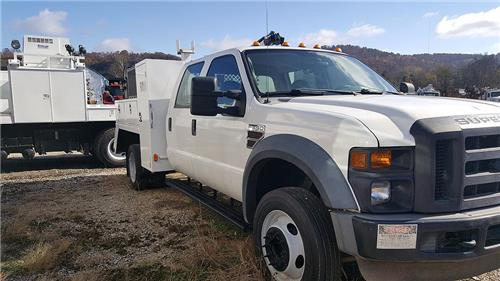 2009 Ford F550 Crew Cab Service Truck