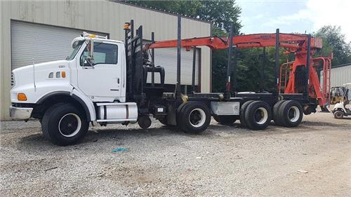 2003 Sterling LT8500 High Rail Material Truck