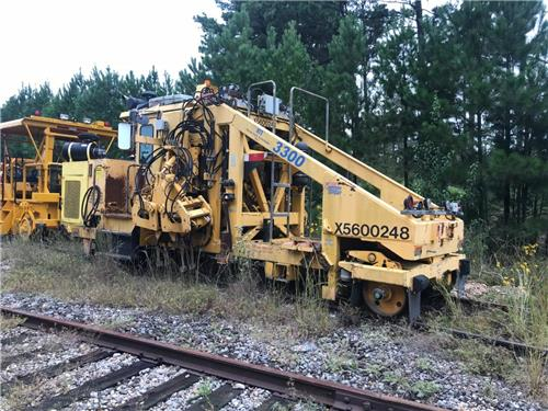 JACKSON 3300 RAILROAD TRACK TAMPER RR MOW WORK READY - RAILIRON