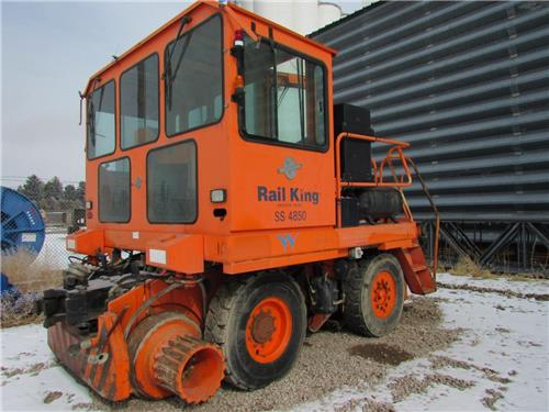 RAIL KING SS-4850 RAILROAD RAIL CAR MOVER JUST ARRIVED--VERY NICE!