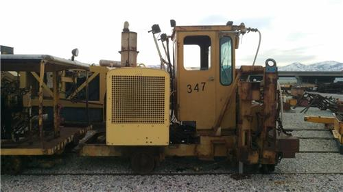 RAILROAD RMC PORTEC RAIL BOUND COMPRESSOR RAIL LIFTER MACHINE RARE