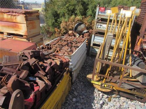 Replacement Parts for RAILROAD Rail Cars - RAILIRON--USED RAILROAD