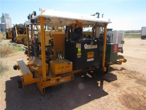 NORDCO SPIKE PULLER 2009 MODEL SUPER CLAW For sale Railroad Machinery
