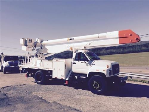 1995 Chevrolet Kodiak C Series C7H042 High Rail 55'  Bucket Truck Railroad Gear