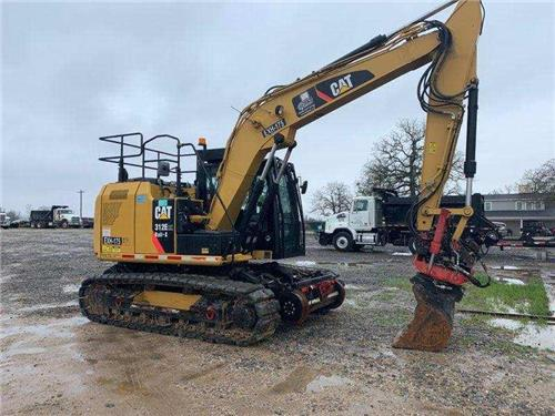 2014 CAT CATERPILLAR 312 E HIGH RAIL EXCAVATOR WITH TONS OF ATTACHMENTS