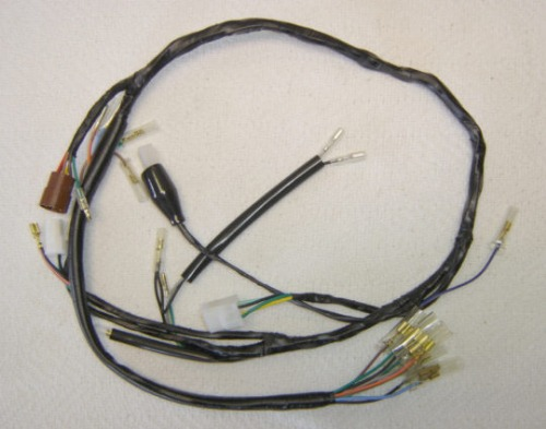Wiring Harness Honda CT70 1977-79 on honda nc50 wiring harness, honda sl70 wiring harness, honda key, honda cb550 wiring harness, honda s90 wiring harness, scooter brake electrical harness, honda sl125 wiring-diagram, honda ruckus wiring-diagram 03, honda cb750 wiring harness, honda ct90 wiring harness, honda ruckus gy6 wiring-diagram, honda ruckus wiring switch, honda crf450x wiring harness,