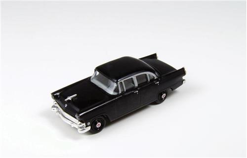 HO Scale-Classic Metal Works-30398-1955 Ford Mainline Town Sedan-Raven Black