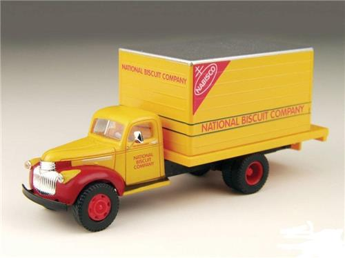 HO Scale-Classic Metal Works-30299-'41-'46 Chevy Delivery Truck-Nabisco Company