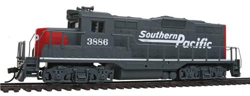 HO-Walthers Trainline-931-142-GP9M Diesel Locomotive-Southern Pacific RR #3886