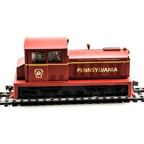 HO Gauge-Model Power-96682-DDT Plymouth Industrial Switcher-Pennsylvania RR