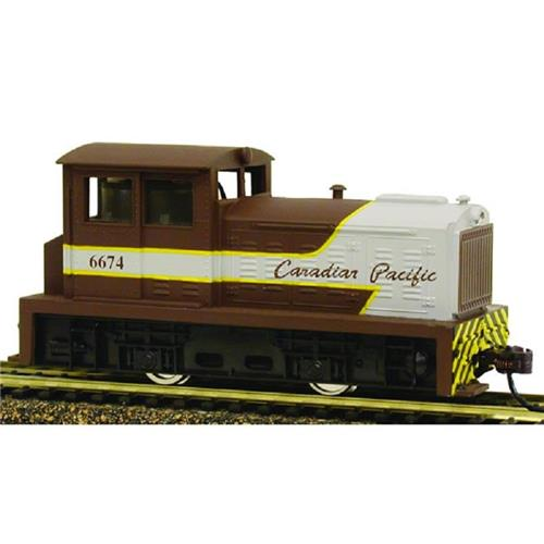 HO-Model Power-96674-DDT Plymouth Industrial Switcher-Canadian Pacific RR #6674
