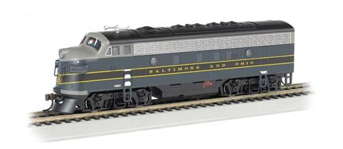 HO Gauge-Bachmann-63709-EMD F7-A Diesel Locomotive-Baltimore & Ohio-DCC Ready