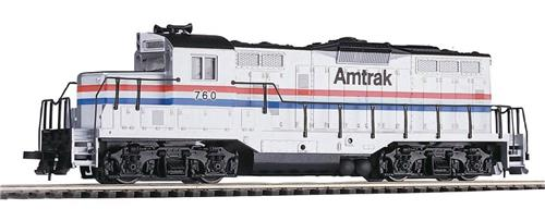 HO Gauge-Walthers Trainline-931-123-GP9M Diesel Locomotive-Amtrak Railroad #760