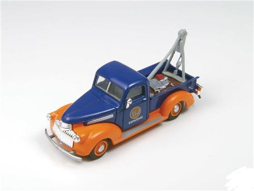 HO Scale-Classic Metal Works-30403-'41-'46 Chevy Tow Truck-Gulf Towing Co