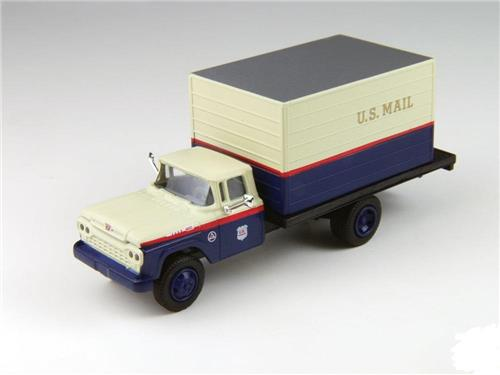 HO Scale-Classic Metal Works-30427-1960 Ford Box Truck-United States Mail