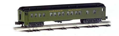 O-Williams/Bachmann-43470-Canadian National-60' Madison 4 Car Passenger Set