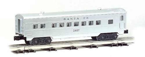 O Gauge-Williams/Bachmann-43264-Santa Fe RR-0-27 Streamline 4 Car Passenger Set