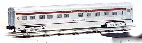 O Gauge-Williams/Bachmann-43162-Pennsylvania RR-72' Streamline 4 Car Passenger Set
