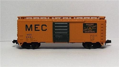 "N Gauge-Atlas ""Trainman""-34471-Maine Central RR 40' Box Car #8661"