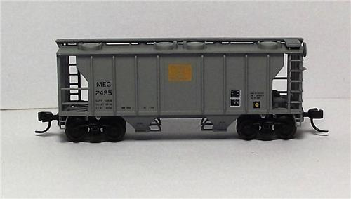 "N Gauge-Atlas ""Trainman""-31833-Maine Central RR-PS-2 Hopper Car-#2495"