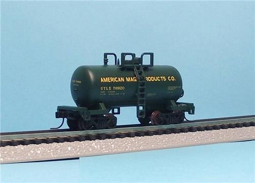 """N Gauge-Atlas """"Trainman""""-31424-American Maize Products Co-Beer Can Tank #76920"""