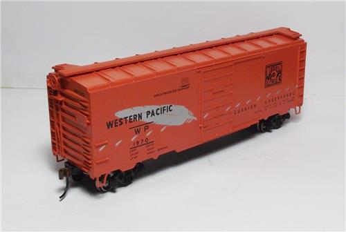 HO Gauge-Athearn-72340-Western Pacific RR-40' Superior Door Box Car #1970