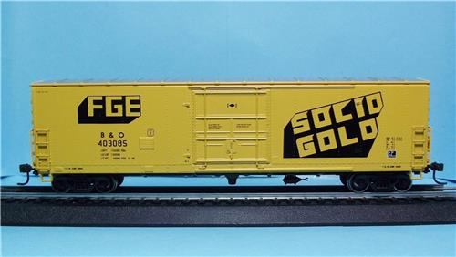 HO Gauge-Athearn-91248-50' Plug Door Superior Box Car-B & O RR-Fruit Growers Express