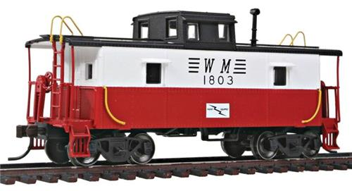 HO Scale-Atlas Trainman-20002428-Western Maryland Center Cupola Caboose #1803