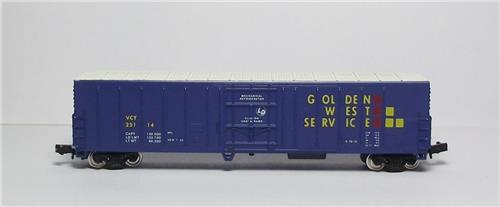 N Gauge-Con Cor-148205-Golden West Service-57' Mechanical Refrigerator Car