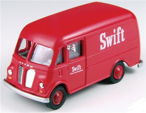 HO Scale-Classic Metal Works-30386-International Metro Van-Swift's Meats Company