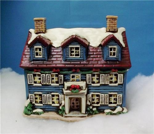 Lefton Colonial Village Collection-05824-The Welcome Home-W/Box, Light, & Deed-#18