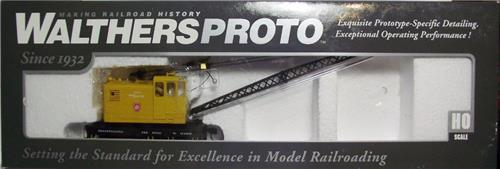HO-Walthers Proto 920-105053-Non Powered American Crane Car-Pennsylvania #85381