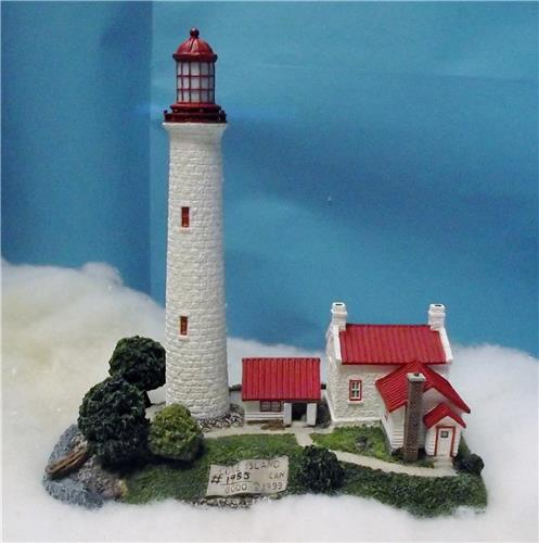 Harbour Lights Collection-HL 233-Cove Island Light-Ontario Canada-New with COA