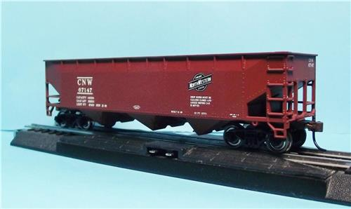 HO Gauge-Bowser-Executive Line-40425-Chicago & North Western-70 Ton Offset Hopper Car-67147