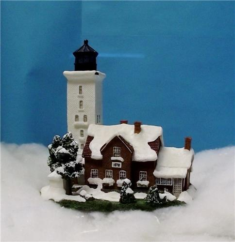Harbour Lights Collection-HL 201-Presque Isle Light-Pennsylvania-New with COA