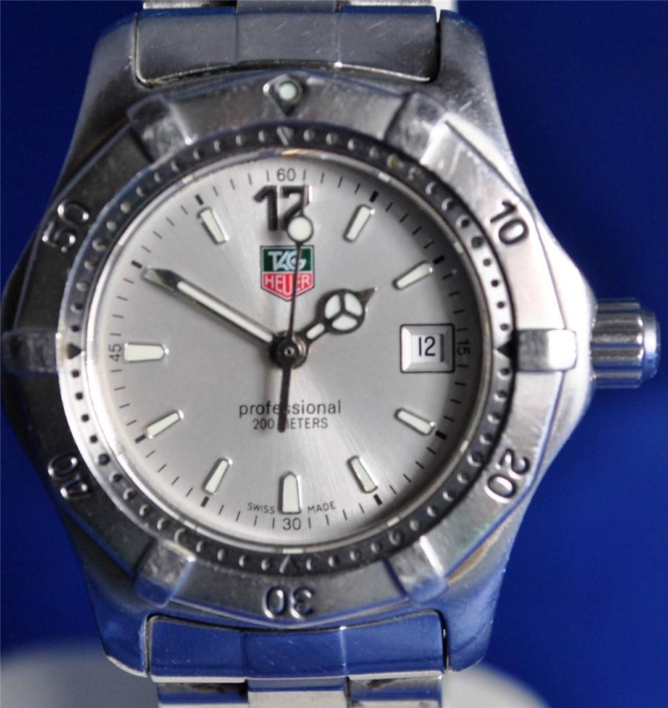 fdf3553bcad Tag Heuer Professional WK1312 Stainless steel Quartz Ladies Watch - IS Watch