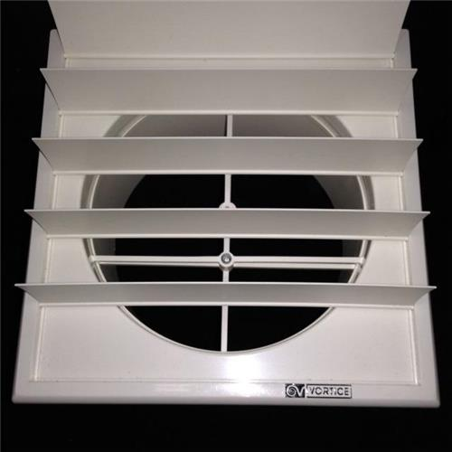 Gravity Exhaust Grill Suit 150mm Duct External Grille