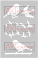 Some Birds - ARTplorations Stencil