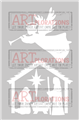 Nativity Angel - ARTplorations Stencil