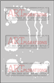 Art Splatters - ARTplorations Stencil