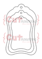 Luggage Tags Nesting Dies - CUTplorations