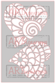 Zen Hearts - ARTplorations Stencil