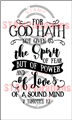 God Hath Given - Typografia In Faith